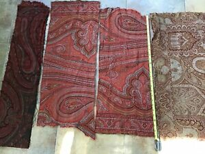Paisley Cutter Wool Fabric Rug Hooking