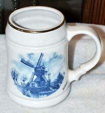 Beautiful ©Ter Steege b.v. Delft Blauw Handdecorated Mug • Holland