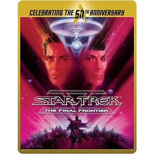 Star Trek V The Final Frontier Limited Edition 50th Anniversary Steelbook New
