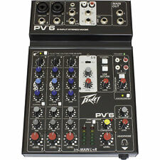 Peavey PV 6 V2 Mixer With USB