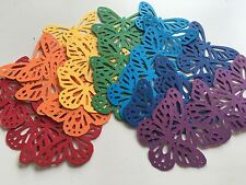 Martha Stewart Butterfly Punch Scrapbooking 35 Pcs Rainbow Party Craft Confetti