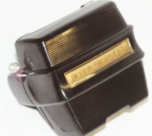 Vintage Deco Brown & Gold Sawyer's View-Master Focusing Viewer Model D Tested!
