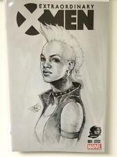 EXTRAORDINARY X-MEN #1 Phantom variant Sketch 001 Storm