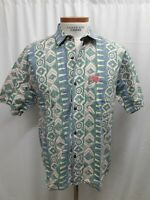 Vintage PCH Pacific Coast Highway Medium Cotton Shirt Mens Surf Skate 80s 90s