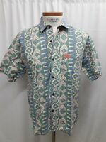 Vintage PCH Pacific Coast Highway Medium Cotton Shirt Mens Surf Skate 80s 90s