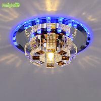 Modern Crystal LED Ceiling Light Hallway Lamp Chandelier Indoor Fixture Lighting