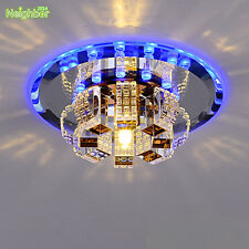 Modern Crystal LED Ceiling Light Hallway Lamp Chandelier Indoor Fixture Lighting