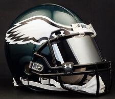*CUSTOM* PHILADELPHIA EAGLES Authentic NFL Riddell VSR-4 ProLine Football Helmet