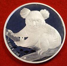 2009 AUSTRALIAN KOALA DESIGN 1 oz .999% SILVER ROUND BULLION COLLECTOR COIN