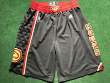 Adidas Atlanta Hawks Shorts Sz L Vintage Basketball Nba
