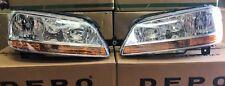 COPPIA FARI FANALI ANTERIORI FIAT MULTIPLA DAL 2004>;FIAT IDEA DAL 2003>DX+SX