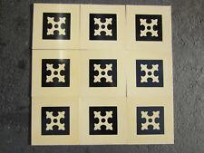 Titanic - James Cameron - prop floor tiles - 3rd Class - 9 ovem !!! Nice to own!