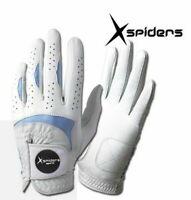 XSpiders All-Cabretta Regular Mens Golf Glove Durable Soft - 4 Packs Left hand