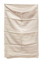 "2 Silk Pillow Cases 50% Silk 50% Cotton 19"" x 29"" Standard Bedding Bedroom Beige"