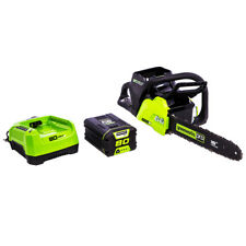 GreenWorks CS80L211 80-Volt 16-Inch 2Ah Cordless Chainsaw Kit - 2004502
