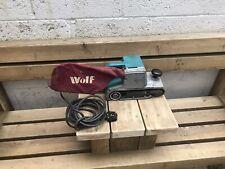 Wolf Belt Sander 5573 1040w 240v Used Not Makita 9401