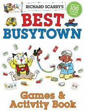Best Busytown by Richard Scarry (2013, Paperback, Activity Book)