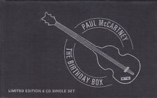 PAUL MCCARTNEY-BIRTHDAY BOX RARE OOP LIMITED EDITION NUMBERED- FREE SHIPPING