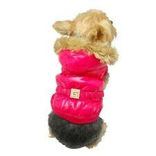 Vêtements et chaussures roses en polyester pour chien