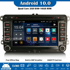 DAB+DSP Android 10 Autoradio DVD GPS For VW Passat Golf 5 Polo Tiguan Jetta EOS