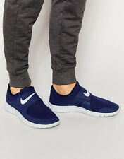 NIKE FREE SOCFLY Trainers Gym Running Casual Slip-on UK Size 6.5 (EUR 40.5) Navy