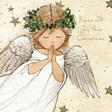 Christmas Cards The Praying Angel 10 Pack With Envelopes Charity Xmas Cherub