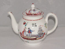 LENOX CHINA LIVERPOOL TEAPOT SMITHSONIAN COLLECTION 18TH CENTURY STYLE 1981