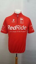 RED RIDE CYCLING JERSEY TOP SIZE 5 M/L - SHORT SLEEVE RED - NALINI