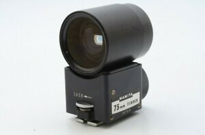 Clean Visibility MAMIYA 75mm View Finder For Universal Press Super 23 20955