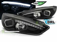 Projector Headlights FORD Focus MK3 15-18 Black DRL LED LHD LPFO79-ED XINO