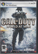 Call of Duty World at War PC COD WOW Brand New