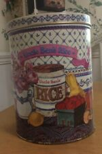 Vintage 1987 Uncle Ben's Rice Advertising Tin Canister