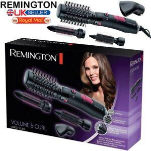NEW REMINGTON HOT HAIR BRUSH VOLUME CURL CERAMIC TOURMALINE IONIC AIR STYLER