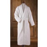 The Genuine Turkish Cotton Bathrobe Unisex Large Ladies 18 Men 44-46 White