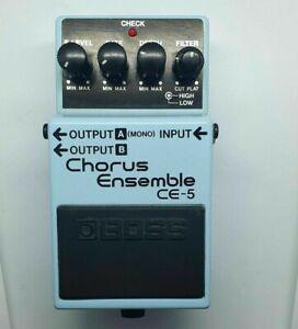 Boss CE-5 Chorus Ensemble Analogue vintage pedal mn3007 (CE-2 CE2) Roland