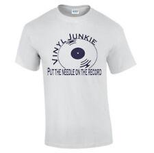 Camisetas de hombre de vinilo