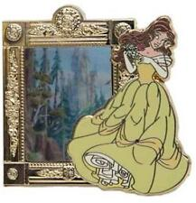 ENCHANTED TALES With BELLE & Lenticular MAGIC MIRROR Beast CASTLE Disney PIN