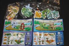 Kompl.-Satz - Tierkinder am Sambesi - China alle 4 mit Puzzle + alle 4 BPZ CHina