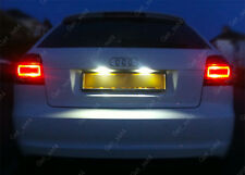 Audi A3 A4 A6 TT Number Plate 7000K XENON WHITE LED Light Bulbs - ERROR FREE