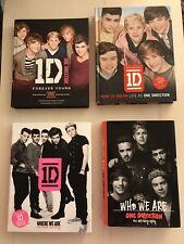 Official One Direction Books Forever Young/Dare to Dream/Where We Are/Who We Are