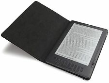 "NIB Genuine Amazon Leather Cover For Kindle DX 9.7"" Case- Latest And 2nd Gen BLK"
