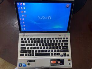 Sony Vaio VPCZ1 Laptop- 256GB SSD, 4GB RAM, Intel i7-CPU,2.67G win 7 pro1600x900