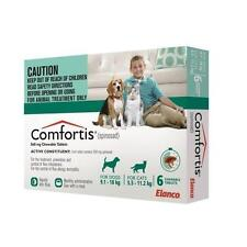 Comfortis Flea Treatment for Dogs 9 to 18kg X 3 Tablets