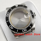 40mm stainless steel watch Case fit ETA 2836 Miyota 8215 Self-winding Movement 1
