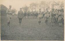 Carte Photo Guerre WW1 - Revue de Troupes - GV 63