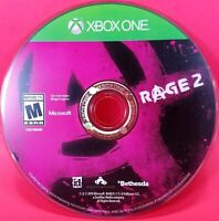 RAGE 2 Standard Edition for Microsoft Xbox One, 2019 - Bethesda Game DISC ONLY
