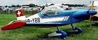 MB-3 Brugger Switzerland Sports Airplane Mahogany Wood Model Large New