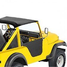 Jeep CJ CJ5 Set Half doors Half Door Black Crush Bestop 76-83