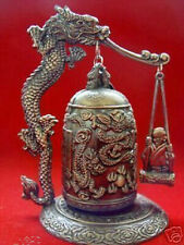 Hot Sale Excellent China Tibet Brass Dragon buddha Bell free shipping