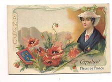 coquelicot  fleurs de france ,anjou